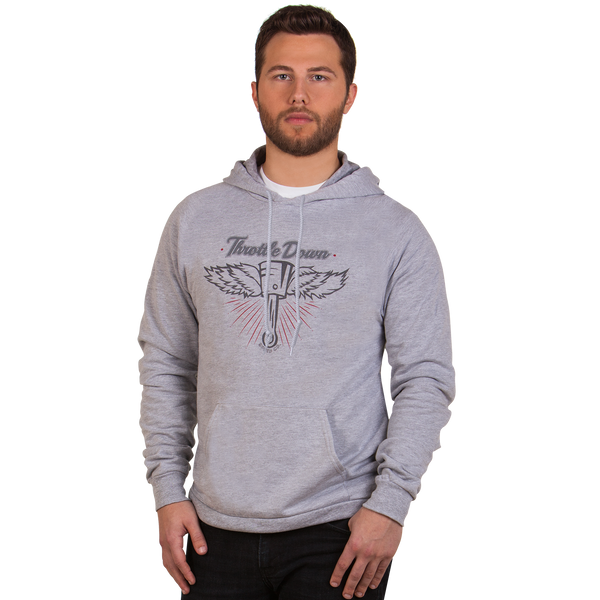 Flying Piston Hoodie - Throttle Down Speed Co.