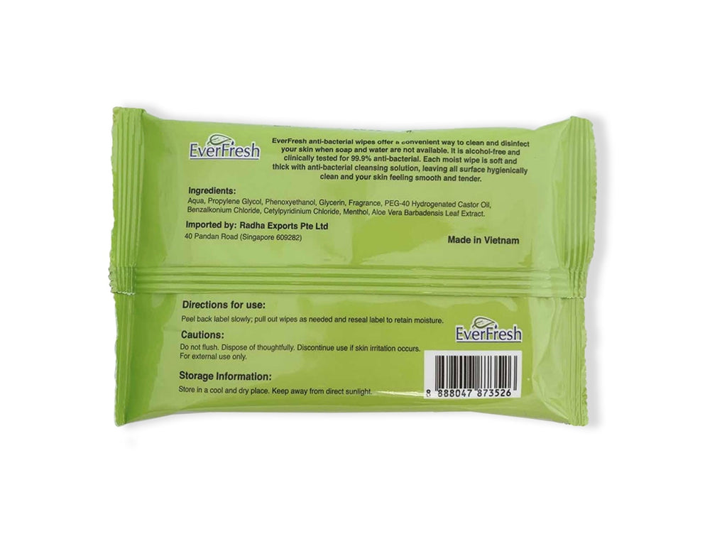 EverFresh Antibacterial Wipes