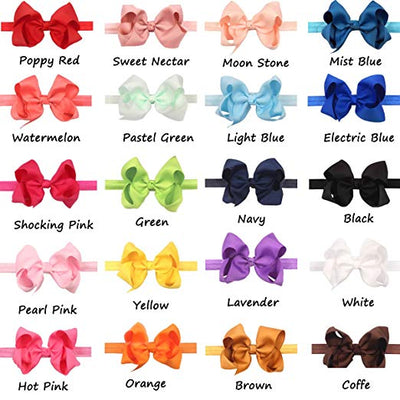 "4.5"" Bows on Headband - Sweet Girls"