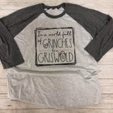 Be a Griswold Adult Raglan - Sweet Girls