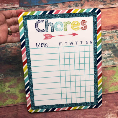 Chore Chart Board - Sweet Girls
