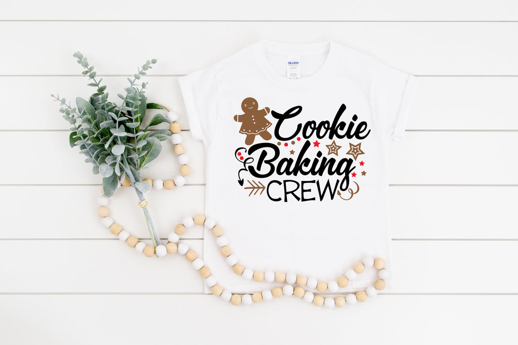 Cookie Baking Crew Kids Tee and Infant Onesie