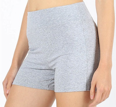 Plus/Misses Women's Cotton Under Shorts in Heather Gray - Sweet Girls