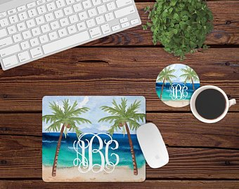 Personalized Mouse Pad and Coaster - Sweet Girls