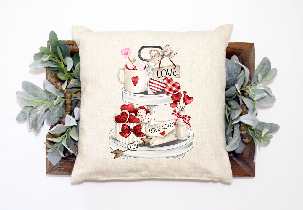Valentines Tray Pillow