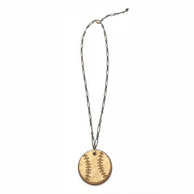 Baseball Is Love Necklace