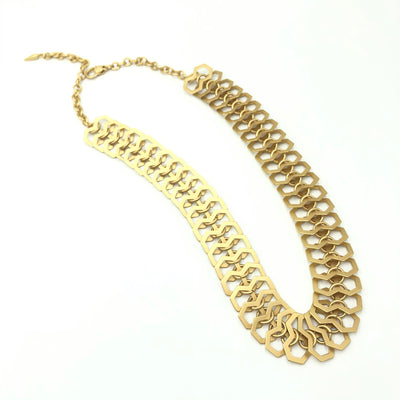Gold Bold Designer Necklace