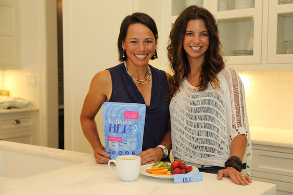 Collagen BLU Co-founders, The best collagen for healthy hair and skin