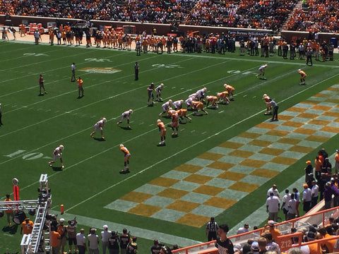 University of Tennessee 2016 Orange and White Game, Knoxville, Tennessee