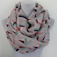 Gray Boat Infinity Scarf - Bean Concept - Etsy
