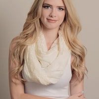 Mint Lace Infinity Scarf - Bean Concept - Etsy