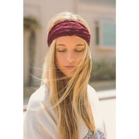Burgundy Red Lace Headband - Bean Concept - Etsy