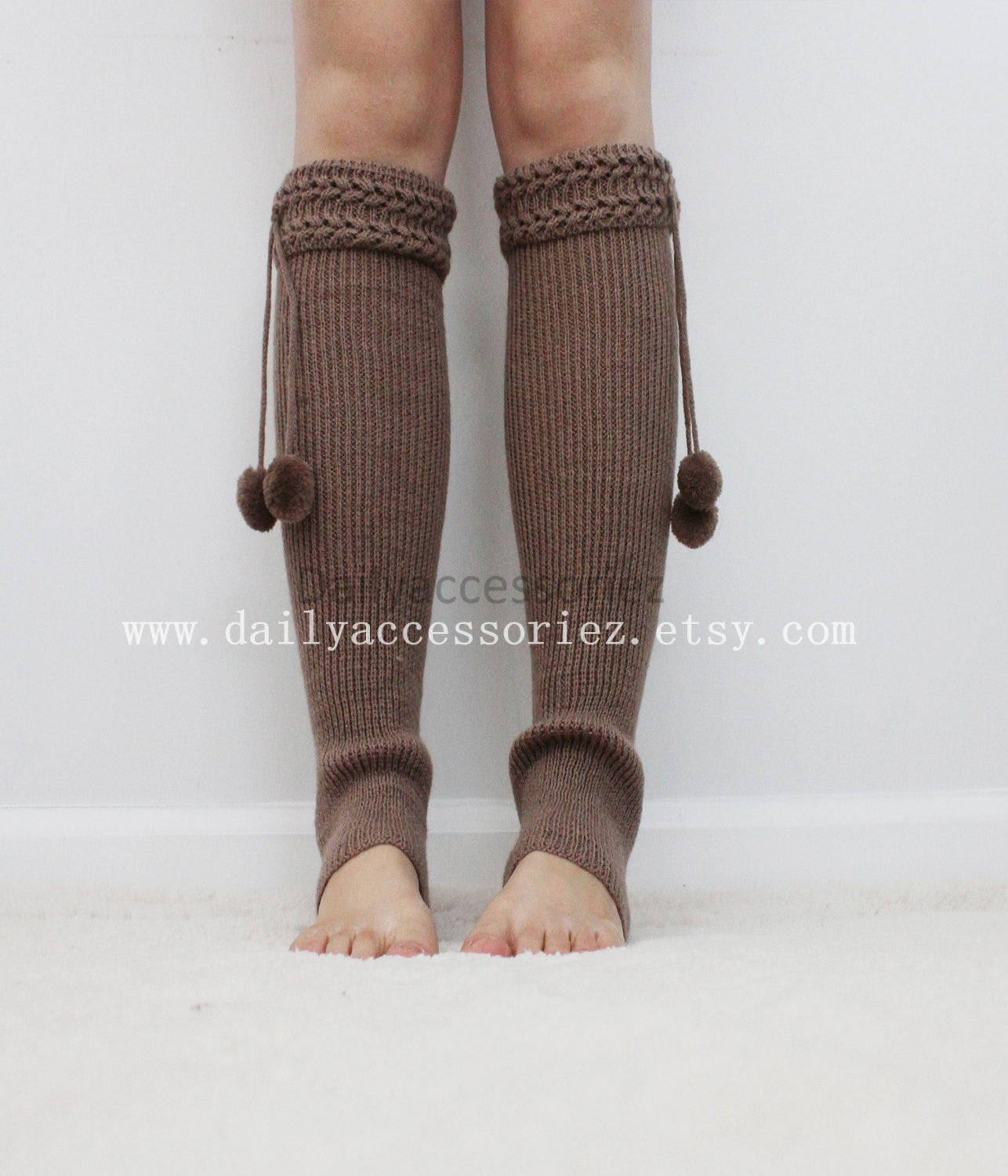 heather gray womens leg warmers - Bean Concept - Etsy
