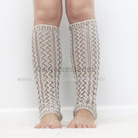 Light Gray womens leg warmers - Bean Concept - Etsy