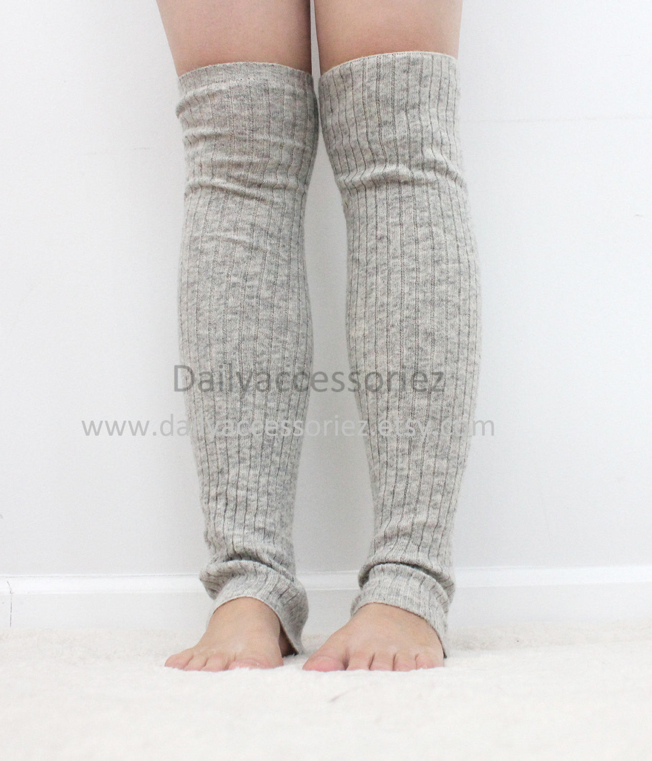 Soft knit womens leg warmers - Bean Concept - Etsy