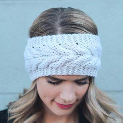 Cable Knit Headband - Bean Concept - Etsy