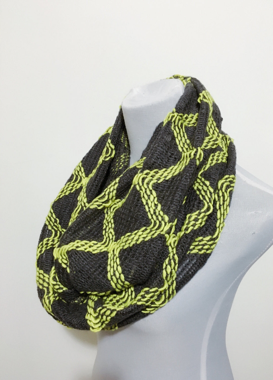 Atez Knitted Scarf - Bean Concept - Etsy
