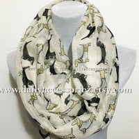 Gray Dachshunds Dog Infinity Scarf - Bean Concept - Etsy