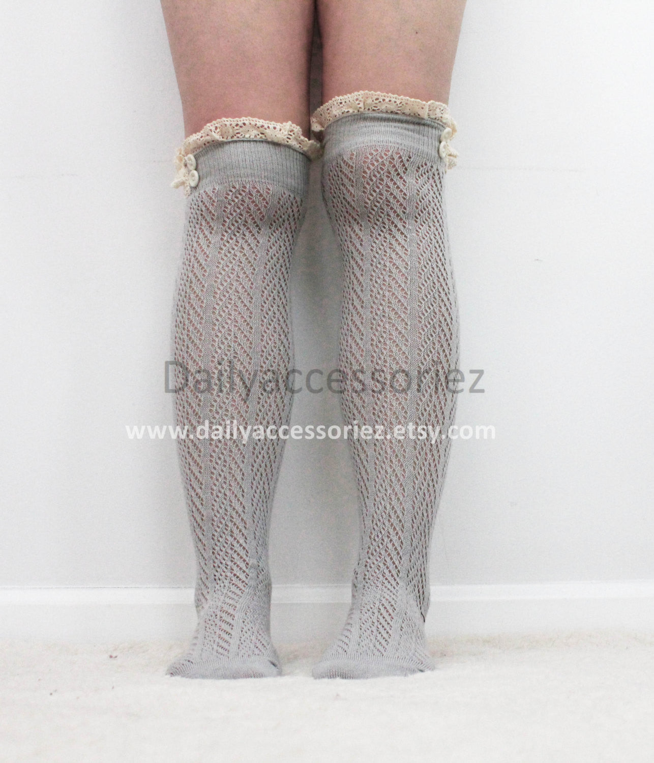 mint lace womens leg warmers - Bean Concept - Etsy