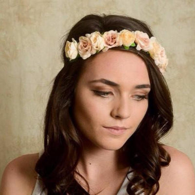 Wedding Flower Headband - Bean Concept - Etsy