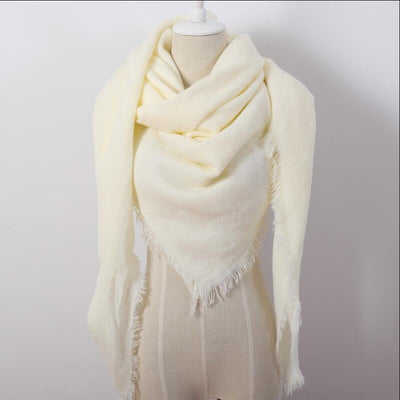 Ivory Blanket Scarf - Bean Concept - Etsy