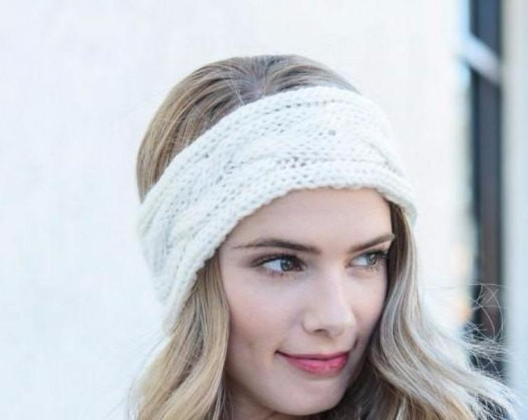 Ivory Ear Warmers - Bean Concept - Etsy