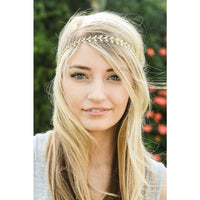 Gold Leaf Crown Headband - Bean Concept - Etsy