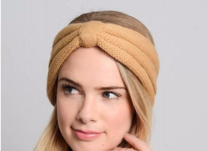 Brown Winter Headband - Bean Concept - Etsy