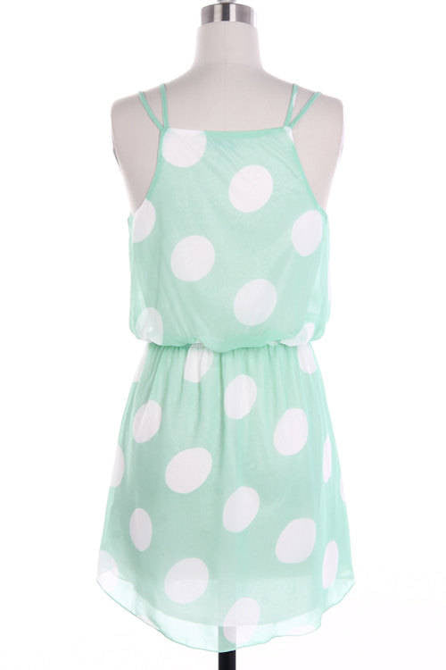 polka dot dress - Bean Concept - Etsy