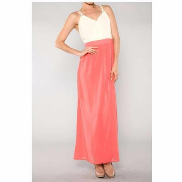 maxi dress open back