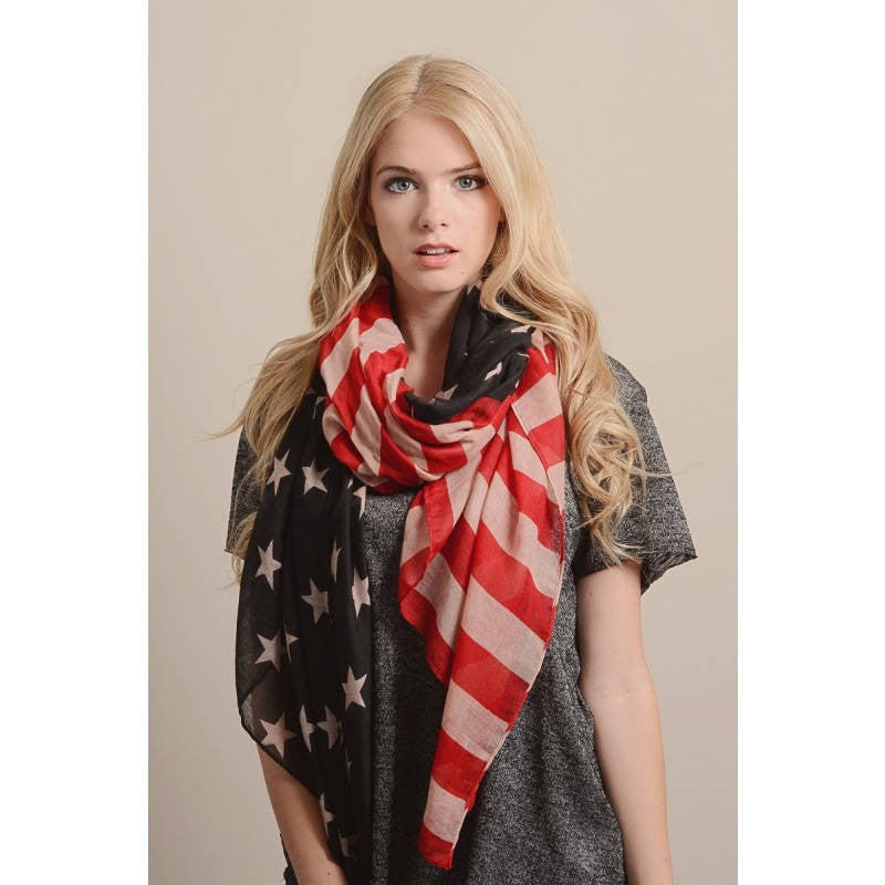 American Flag Scarf - Bean Concept - Etsy