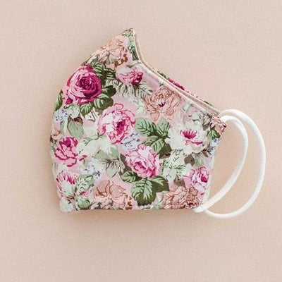 Face Mask for Adult - Rose Print