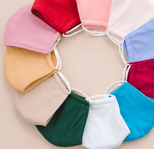Face Mask for Adult - Many colors