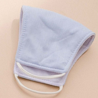 Sky Blue Cotton Mask for Adult