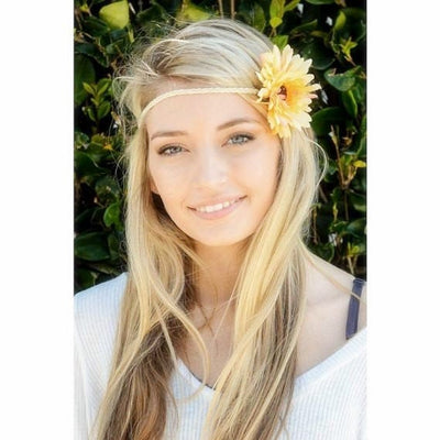 Yellow Daisy Crown