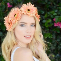 Ivory Daisy Crown