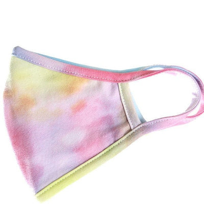 Rainbow Tie Dye Face Mask