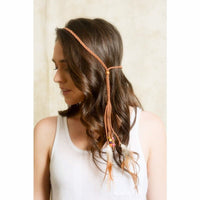Boho Feather headband