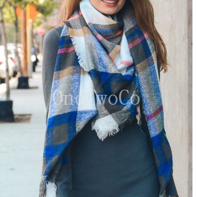 secret santa gift for women, gifts for her under 20, Plaid Blanket Scarf, Bridesmaid Gift, Tartan Plaid Scarf, Tartan Scarf, Blanket Scarf