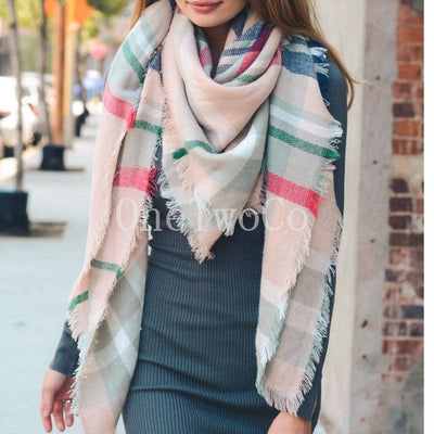 Blanket scarf, Gift for women, coworker gift, stocking stuffers, gifts for coworkers gifts for women stocking stuffers for women christmas