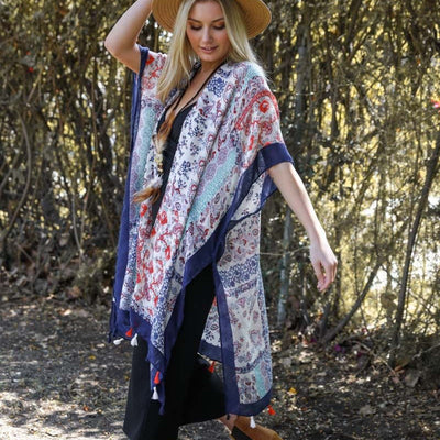 Kimono, patchwork Kimono Wrap, Beach cover up,Bohemian,Best Friend Gift, Gift For Her, Gift For Birthday,