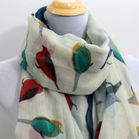 Beige Little Bird Scarf - Bean Concept - Etsy