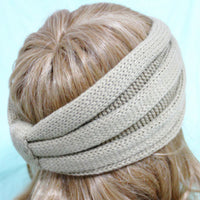 Wheat Knitted Headband - Bean Concept - Etsy