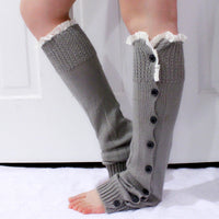 Gray Lace Leg Warmers - Bean Concept - Etsy