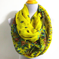 Floral Scarf - Bean Concept - Etsy