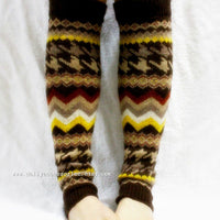 Multi Color Chevron Leg Warmers - Bean Concept - Etsy