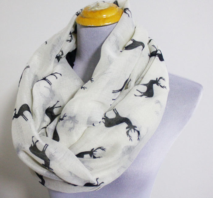 Reindeer Scarf - Bean Concept - Etsy