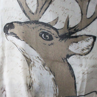 Deer and Fox Infinity Scarf - Bean Concept - Etsy