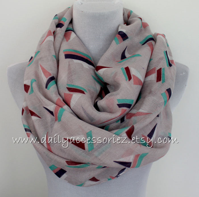 Sailboat Scarf - Bean Concept - Etsy