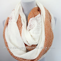 Lace Blanket Scarf - Bean Concept - Etsy
